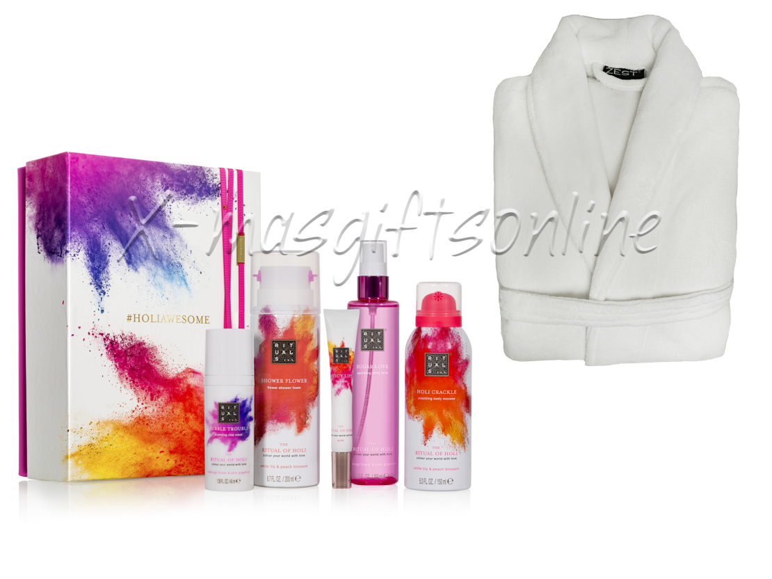 Rituals Holi Collection met badjas