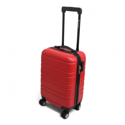 Cabin size trolley napoli rood