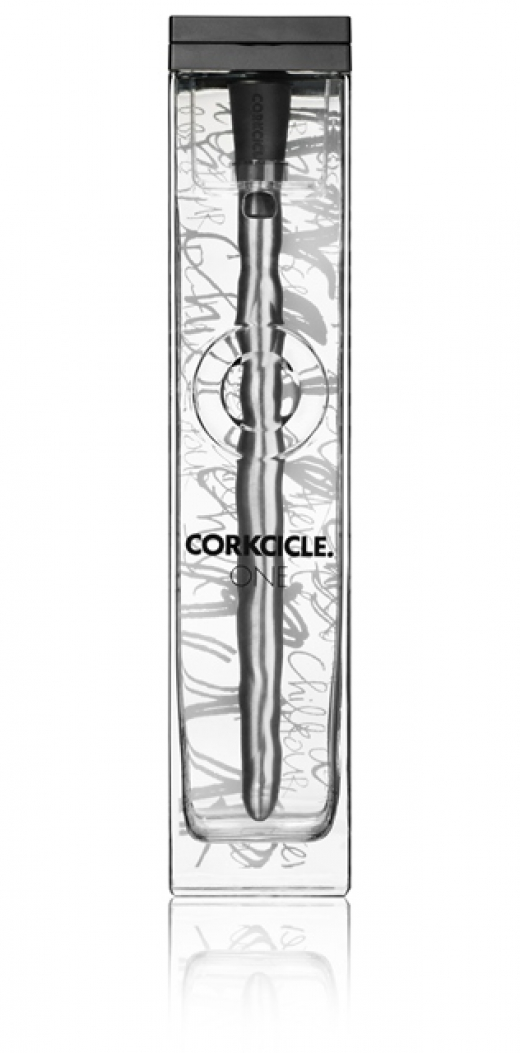 Corkcicle one met uitschenkmechanisme