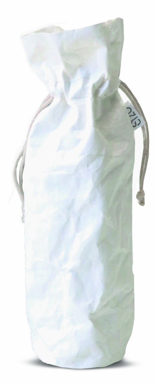 Sizo wine bag paper white  Ø9,5 / H36,5 cm