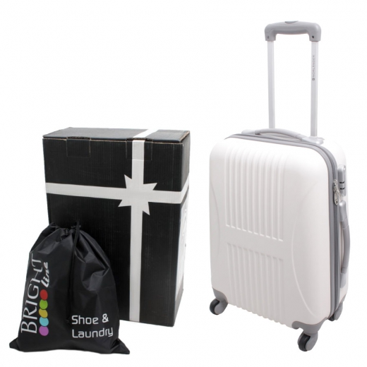 Bright line trolley white