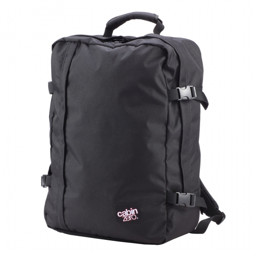 CabinZero classic backpack 44 L Absolute black