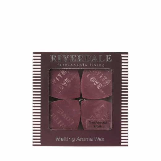 Riverdale smelthartjes sandelwood rose