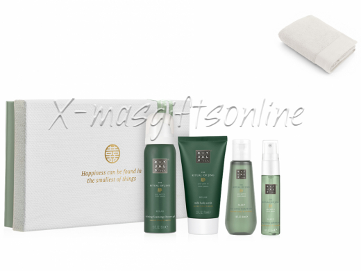 Rituals Jing Treat met baddoek in paperbag