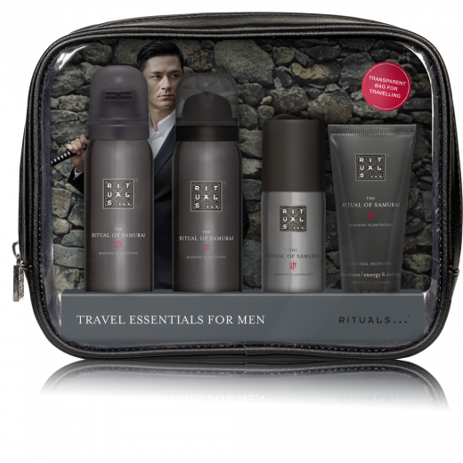 SAMURAI TRAVEL ESSENTIALS SET