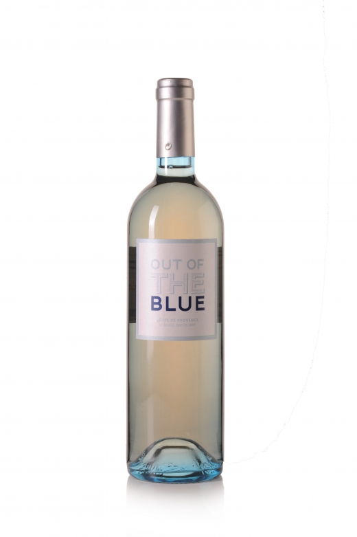 Rosé provence out of the blue