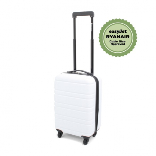 Cabin size trolley rome white