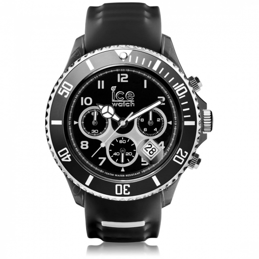 Ice watch sporty zwart wit
