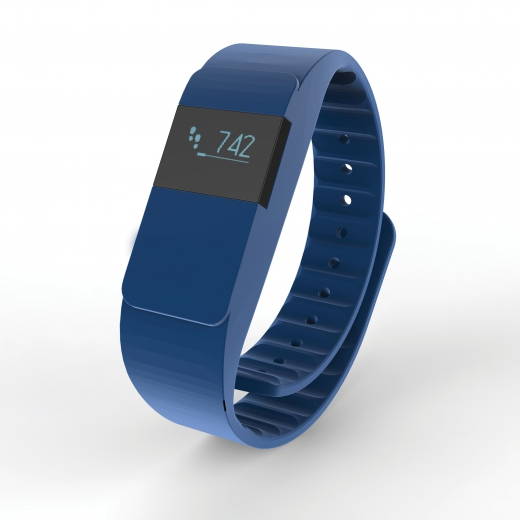 Activity tracker Keep fit, navy