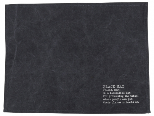 Placemat blauw
