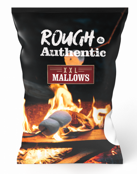 Mega BBQ mallows 375 gram