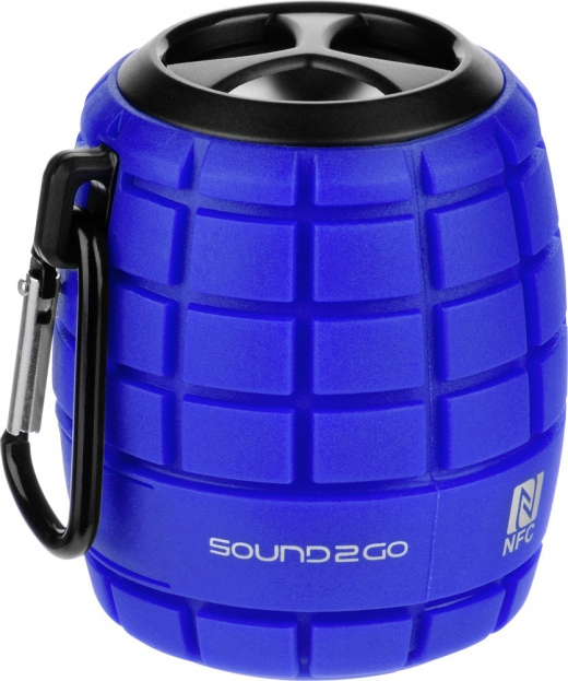 Speaker sound to go cosmo blauw
