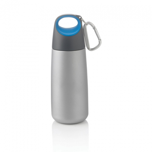 Bopp mini bottle with carabiner blue