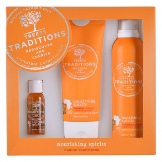 Gift set large nourishing spirits
