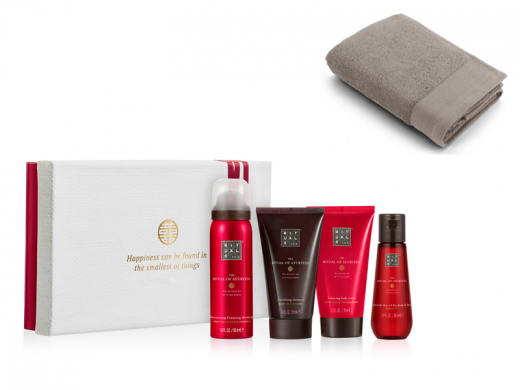 Rituals Ayurveda Treat met baddoek