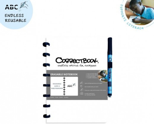 Correctbook A5 wit