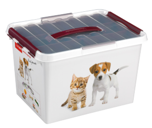 Q-line pet decor box 22 liter