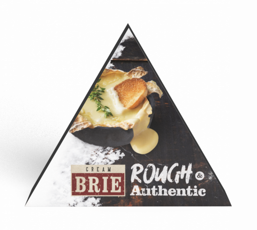 Creme de brie 125 gram Rough & authentic