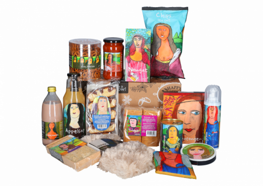 Kerstpakket Outsider art XL