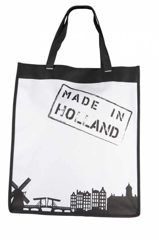 Shopper Made in holland wit