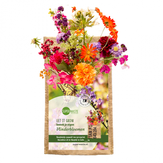 Let it grow hanging garden butterfly flower blend