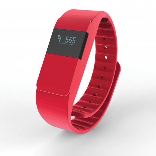 Activity tracker Keep fit, red
