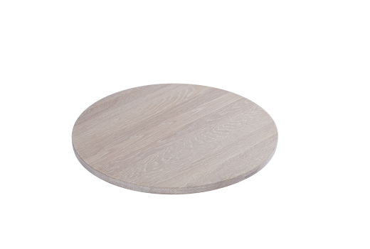 Tray voor poef DRUMit white stained oak