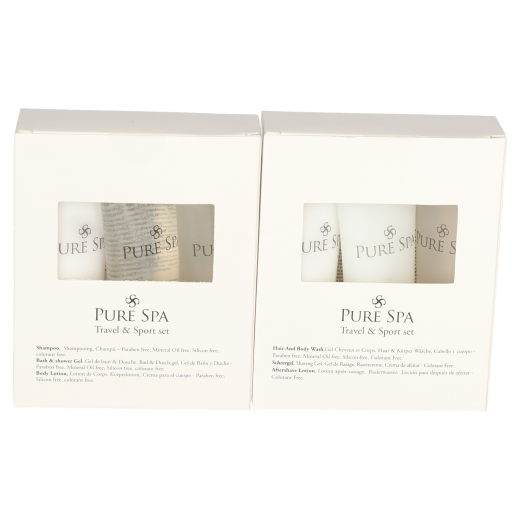 Reisset duo for him & her 2 x 3 tubes bath & shower