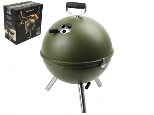 Mini BBQ Barrel Zwart Gusta   Overig buiten   Casa Lien