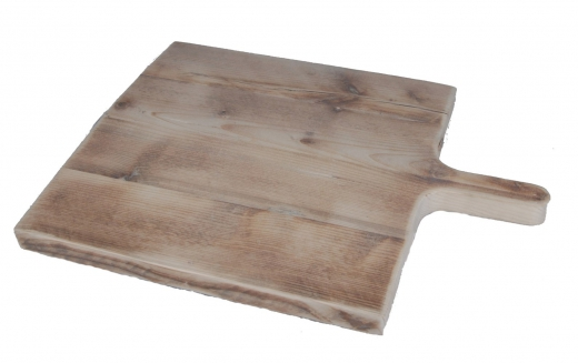 Broodplank vierkant medium steigerhout
