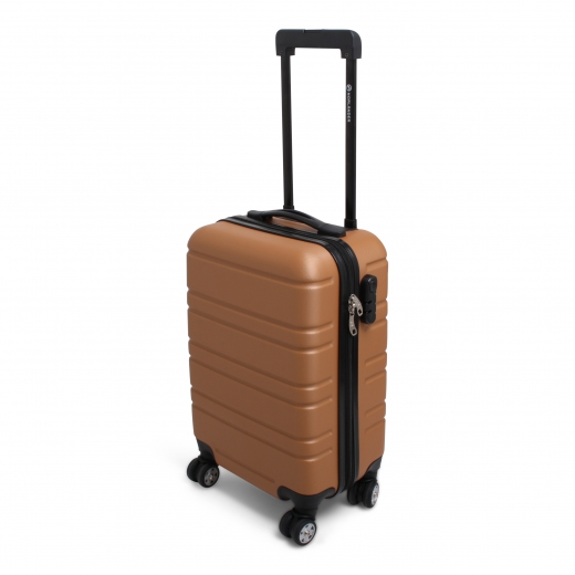 Cabin size trolley napoli goud
