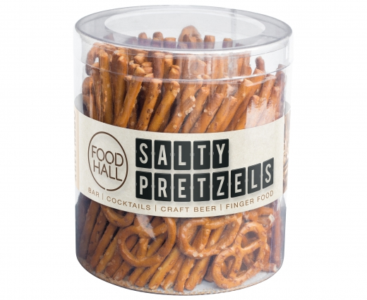 Salty pretzels in koker Foodhall